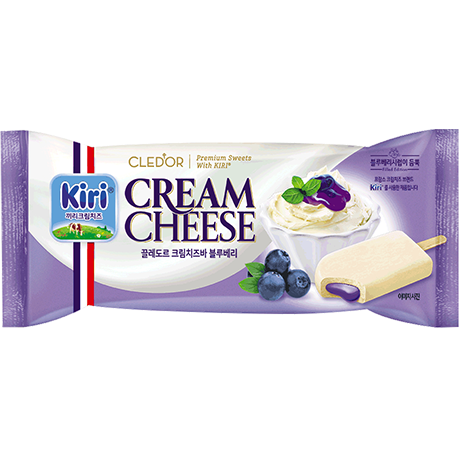 Cled'or Cream cheese (Blueberry)