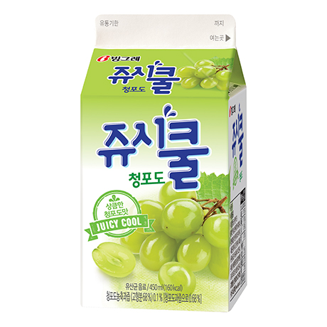 Juicy Cool - Green grape (450ml)