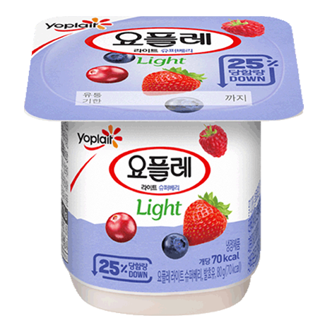 Yoplait Light - Super Berry