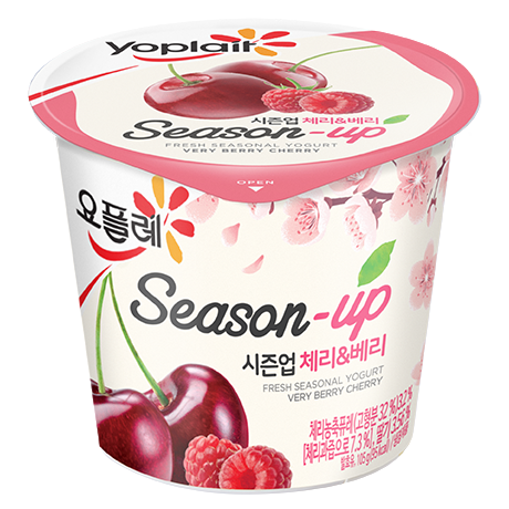 Yoplait Season-Up (Cherry&Berry)