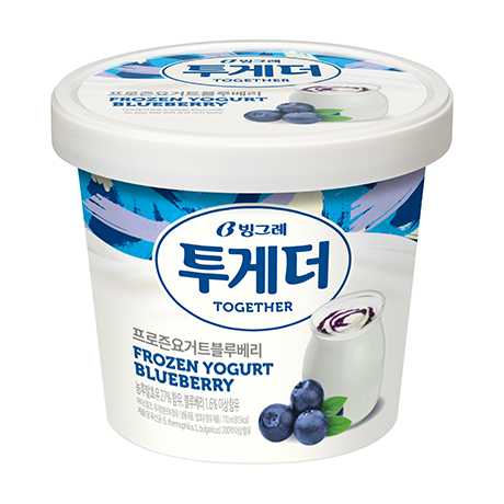 Together Frozen Yogurt Blueberry
