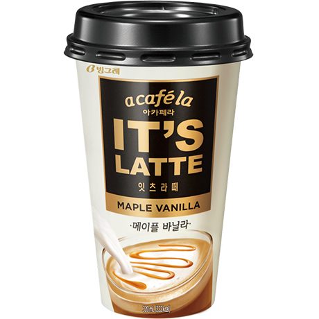 A Cafe la It's Latte Maple Vanilla