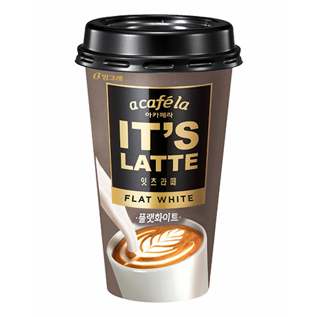 A Café la It's Latte Flat White